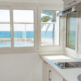 2 pièces terrasse vue mer - cuisine