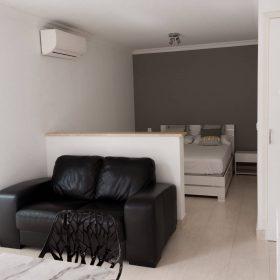 Appartements 2 pièces jardin - canapé
