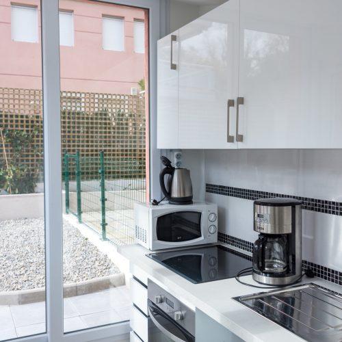 Appartements 2 pièces jardin - cuisine