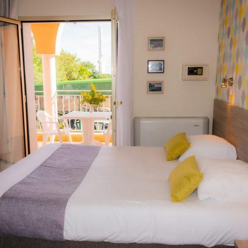 Chambre Confort terrasse - lit terrasse