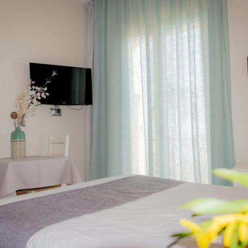 Chambre Standard Vue mer - vue du lit