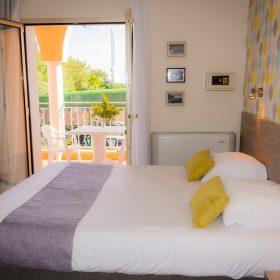 Chambre confort - Lit profil balcon ouvert