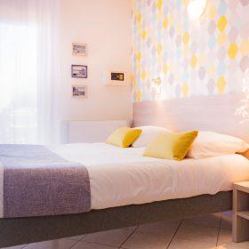 Chambre confort - lit coté