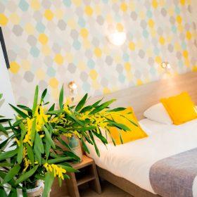 Chambre confort - lit mimosa