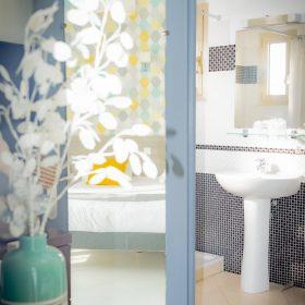 Chambre confort - salle de bain