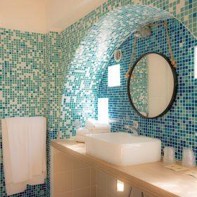 Familiales eco - Salle de bain gros plan