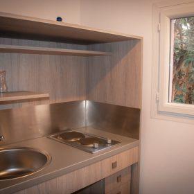 Studio PMR - cuisine gros plan